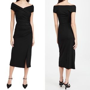 NWT Reformation Black Cormac Dress